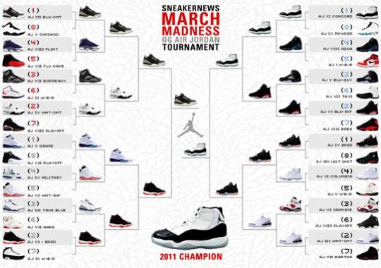 Sneaker News March Madness OG Air Jordan Tournament – Champion Announced f182e07079b5