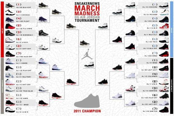 Sneaker News March Madness OG Air Jordan Tournament – Finals Announced