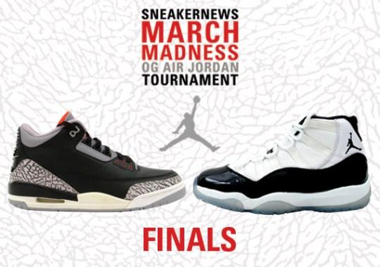 Sneaker News March Madness OG Air Jordan Tournament – Finals Voting adab64635e7f