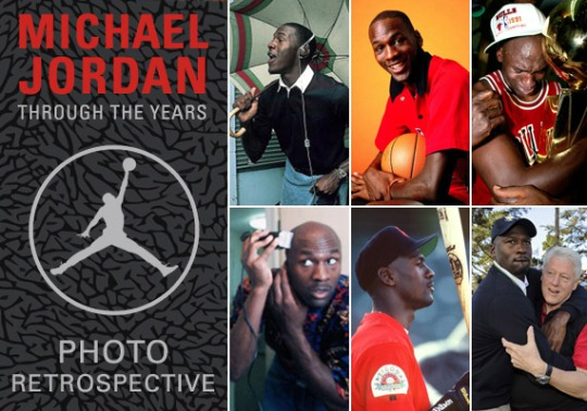 Michael Jordan Through The Years: Photo Retrospective
