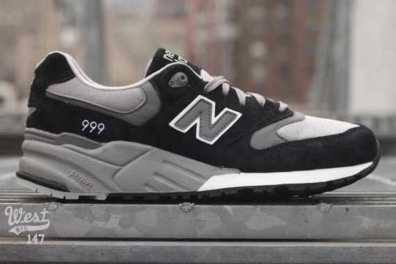 best service e1ffc 6a758 New Balance 999 - Grey + Black | Available @ WEST ...