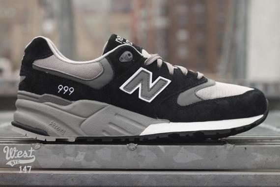 New Balance 999 - Grey + Black