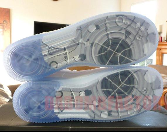 Nike Air Force 1 Alto Blanco Ebay pmuv3iMFZ