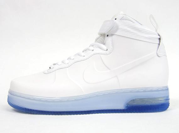 nike air force 1 all white high