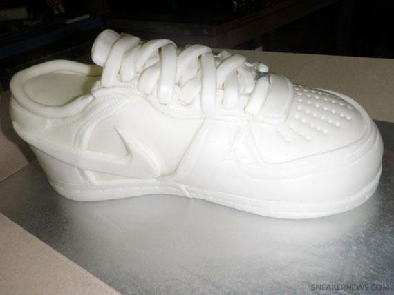 Nike Air Force 1 Low White Birthday Cake