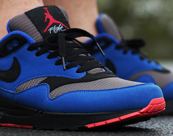 best service 75f13 f6814 Nike Air Max 1 iD – Air Jordan IV  Eminem  Custom