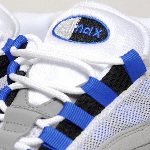 Nike Air Max 95 Blå Gnist For Salg kmK3B