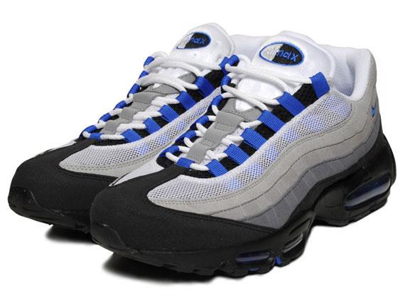 Nike Air Max 95 Blue Spark U S Release Info Sneakernews Com