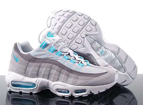 Nike Air Max 95 Grey And Blue