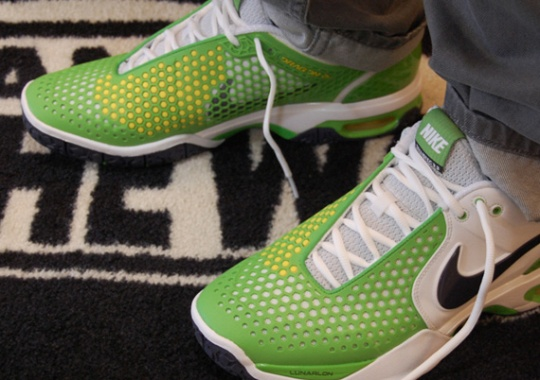 Nike Air Max Courtballistec 3.3 – White – Gridiron – Green Apple – True Yellow