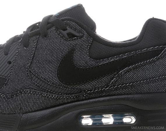 Nike Air Max Light Black Denim Childrens Blue