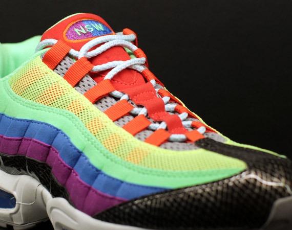 Nike Air Max 95 iD New Options @ 21 Mercer