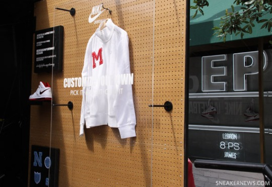 Nike LeBron 8 PS Media Event Miami – Shoe Gallery Visit