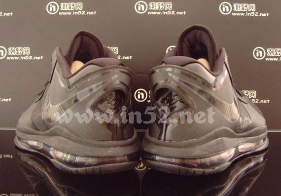 Nike LeBron 8 V/2 Low Blackout Detailed Images