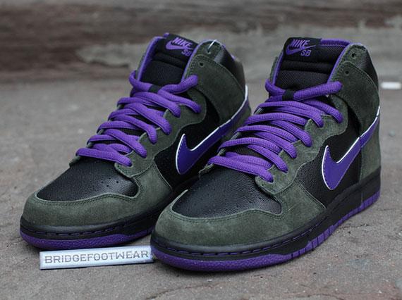 Nike SB Dunk High - 'Purple Haze