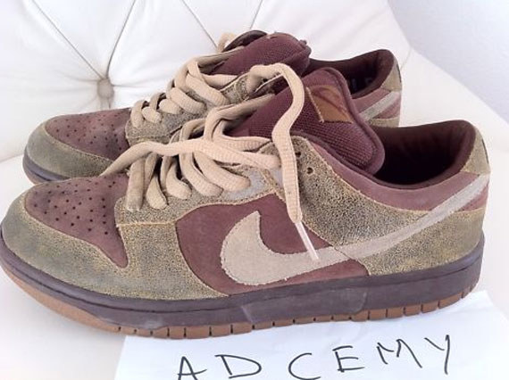 Nike SB Dunk Low - Distressed Leather  efc626cc9d