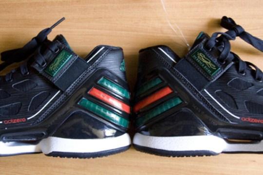 adidas adiZero Rose 2.0 – Black – Red – Green – White
