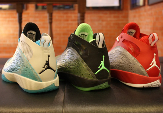 new concept 31c59 f5b5e Air Jordan 2011 – Orion Blue + Varsity Red + Neo Lime   Release Date Change