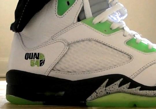 Air Jordan V 'Quai 54' – New Images