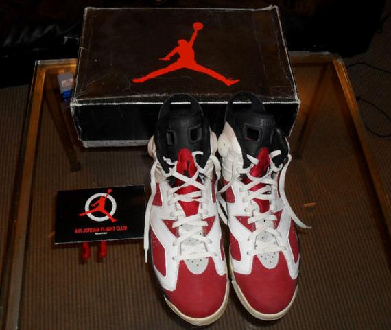 cozy fresh to buy promo code Air Jordan VI 'Carmine' - OG Pair on eBay - SneakerNews.com