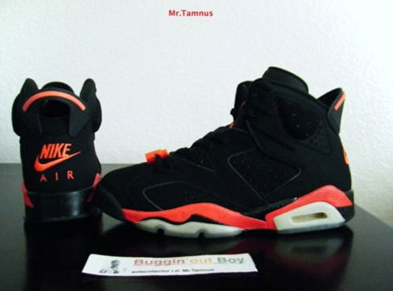 sports shoes 0a06b c2b68 Air Jordan VI 'Reverse Infrared' - 2000 Sample on eBay ...