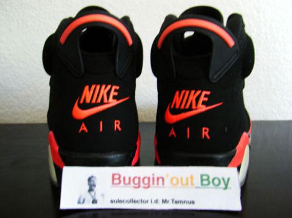 sports shoes 4a0b7 e9797 Air Jordan VI 'Reverse Infrared' - 2000 Sample on eBay ...