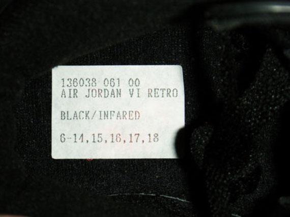 Air Jordan 6 Infrarroja Entrada Ebay uwyGf