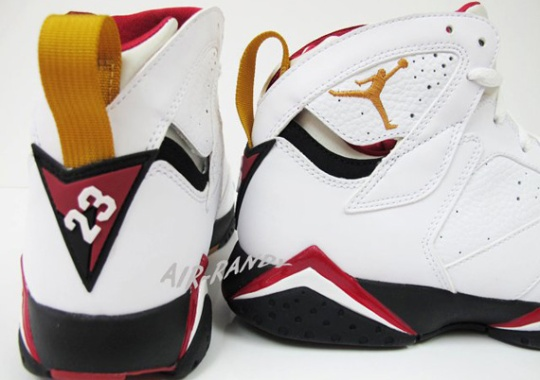 promo code 68023 5f1bd Air Jordan VII Retro –  Cardinal    Available Early on eBay