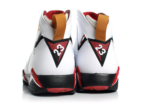 Air Jordan VII Retro – White – Cardinal Red   Arriving at Retailers