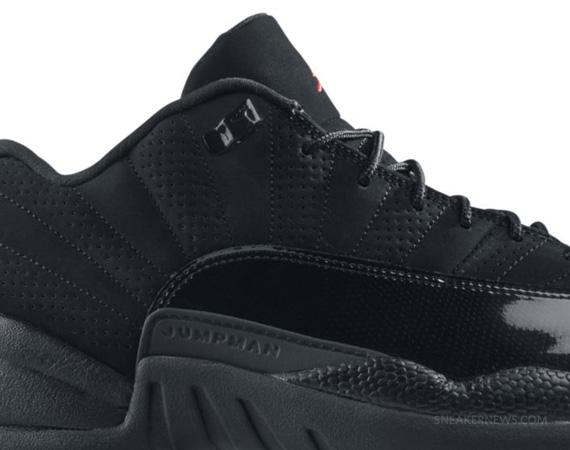b9995b17da65 chic Air Jordan XII Low Black Varsity Red Release Reminder - myyaam.com
