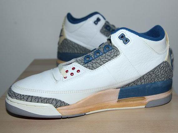 192447788c9948 Air Jordan III White True Blue OG Pair on eBay 30%OFF ...