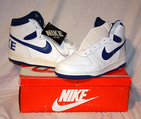 cable frecuencia salud  Big Nike High - White - Royal | OG Pair on eBay - SneakerNews.com
