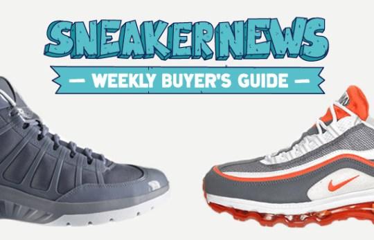Sneaker News Weekly Buyer's Guide: 5/12/2011