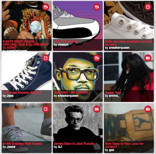 Foot Locker Europe – It's a Sneaker Thing Website