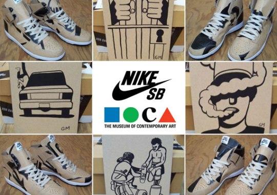 Geoff McFetridge x Nike SB 'Paper Dunk' Auctions on eBay