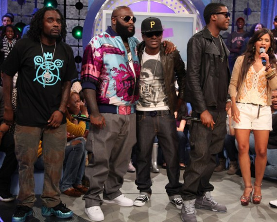 Celebrity Feet: Maybach Music Group Visits 106 & Park Part 2