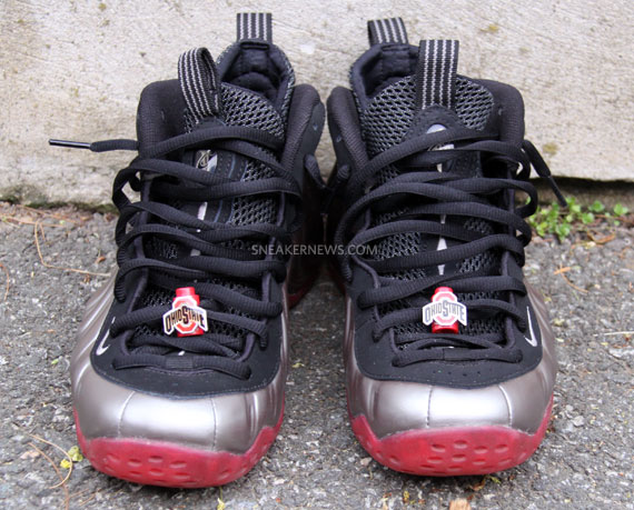 2508ebf7f2b01 ... Nike Air Foamposite One  Ohio State  - Sole Swap Customs by Jason  Negron ...