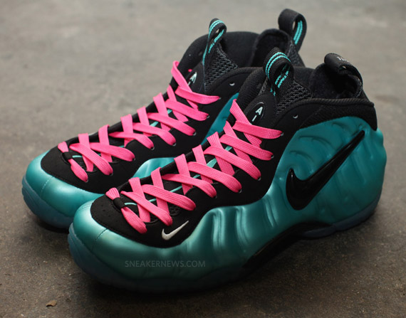 brand new c4c2d 543ab germany nike air foamposite pro retro black south beach lace sw 221bf 62581