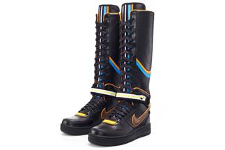 newest ad129 65004 nike-air-force-1-boot-rt-riccardo-tisci-black - SneakerNews.com