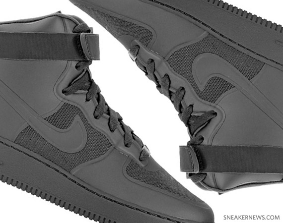 b44f3f4134 80%OFF Nike Air Force 1 High Hyperfuse Black New Images ...