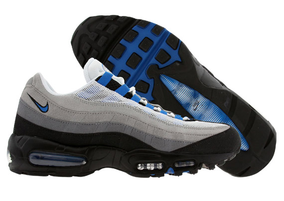 more photos cca3f 9d61a nike air max 95 blue spark