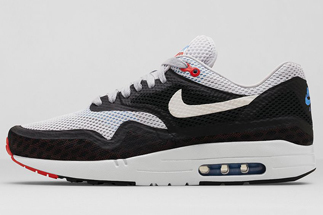 "deba7f292a Nike Air Max 1 City ""London"" Color: Geyser Grey/White-Black-Challenge Red Style  Code: 667633-001. Release Date: 06/06/14. Price: $130 Purchase: on eBay"