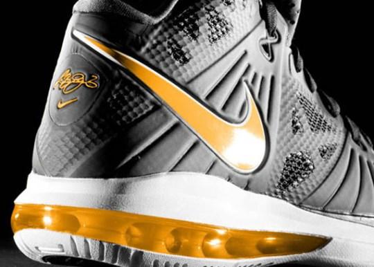 Nike LeBron 8 PS – Black – Varsity Maize   Unreleased Sample
