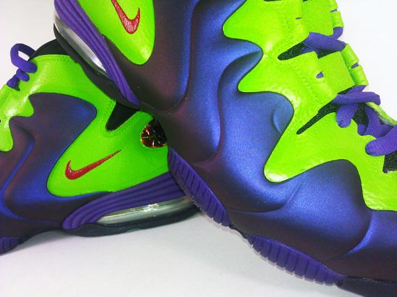 795b50ca536a Nike Air Penny III  Devastator  Custom by Emmanuelabor - SneakerNews.com