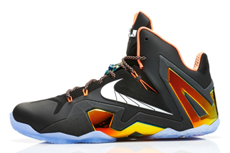 "sale retailer 94dca 0d148 Nike LeBron 11 Elite ""Gold Collection"" Color  Black White-Metallic Gold-Bright  Mango Style Code  642846-002. Release Date  06 06 14"