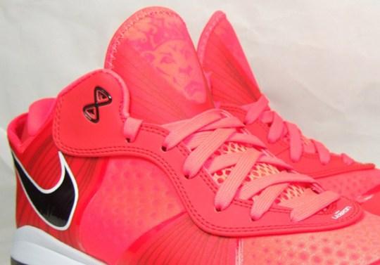 Nike LeBron 8 V2 Low – Solar Red – Black – White   New Images