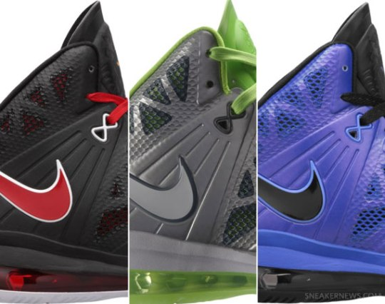 Nike LeBron 8 P.S. – May 2011 Colorways | Available for Pre-order