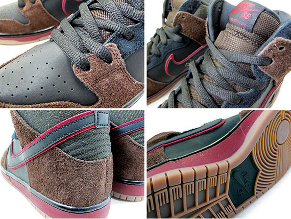 221b576e7a20 Nike SB Dunk High  Reign in Blood  Black Team Red 313171-013. show comments