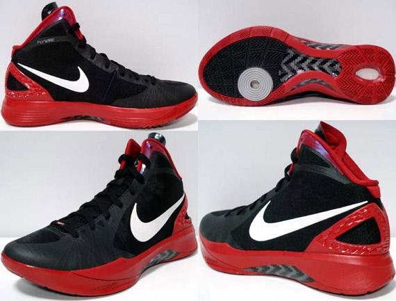 brand new f9e16 6c339 Nike Zoom Hyperdunk 2011 TB - Black - White - Red ...