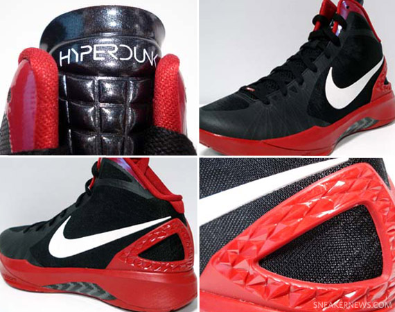 Nike Zoom Hyperdunk 2011 Supreme Black/Dark Grey Cool Grey